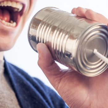 Let me talk to you - networking skills and speaking in public