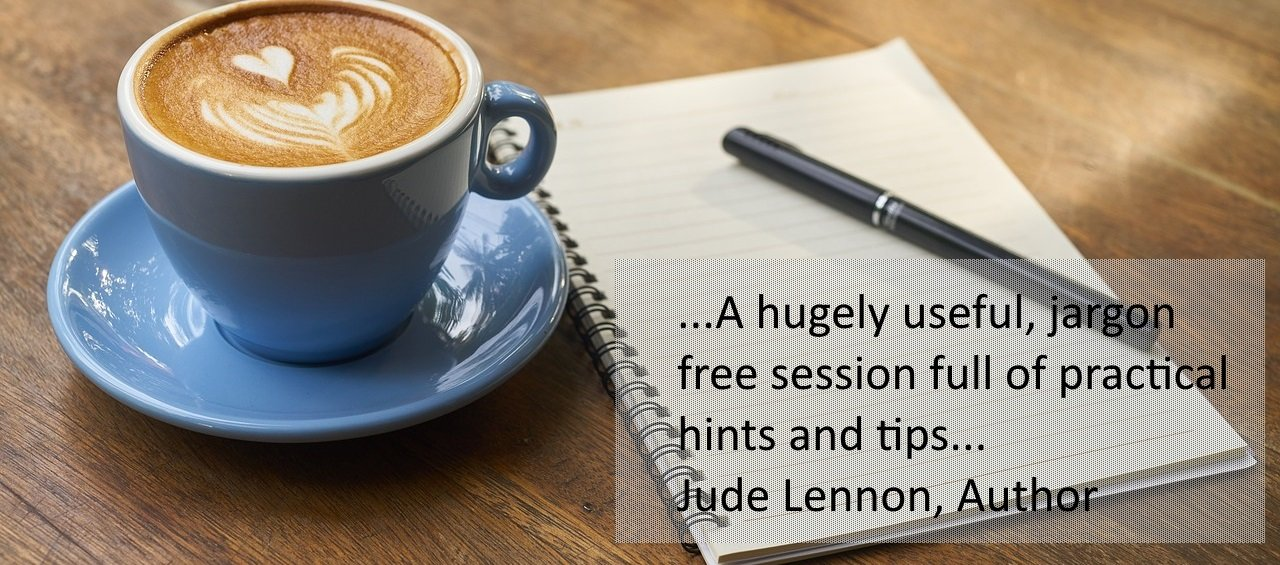 Digital Training testimonial from Jude Lennon, author.